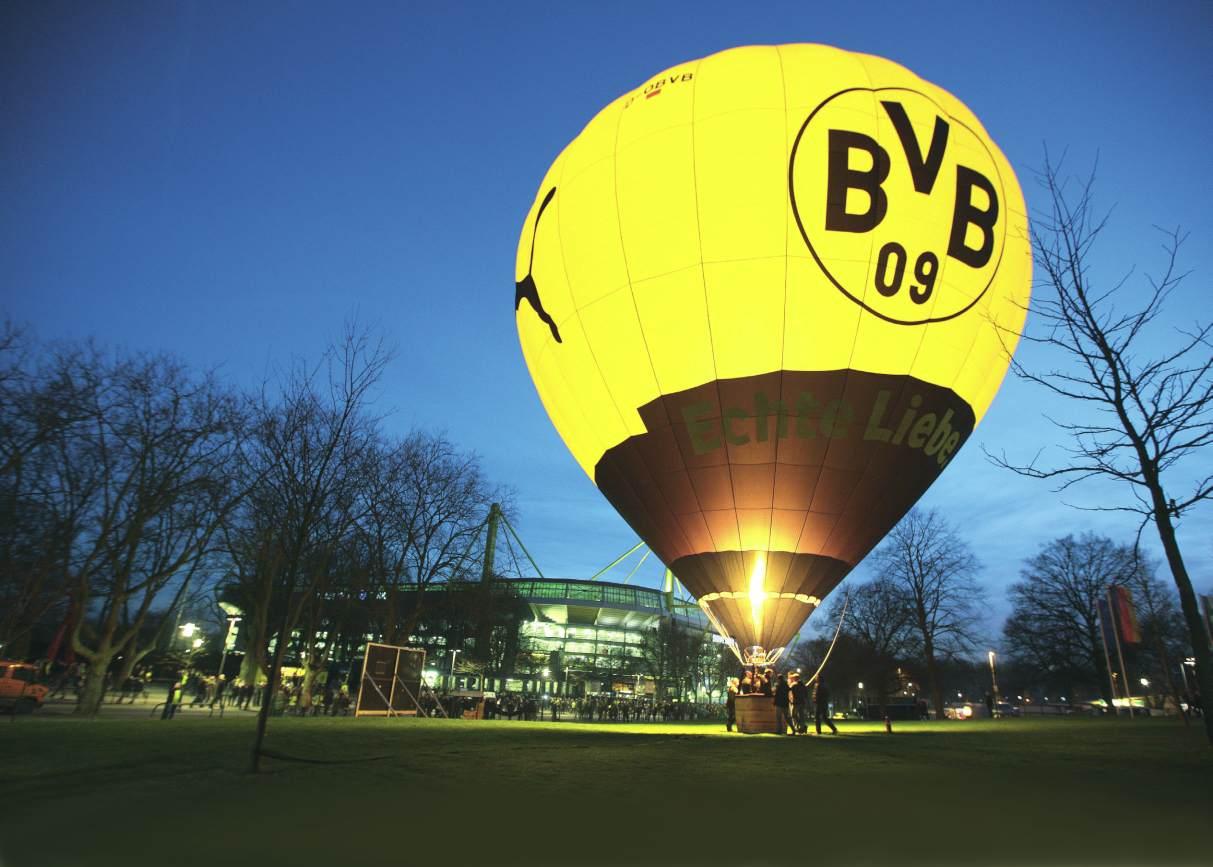 Heißluftballon In Dortmund: BVB Modulkatalog